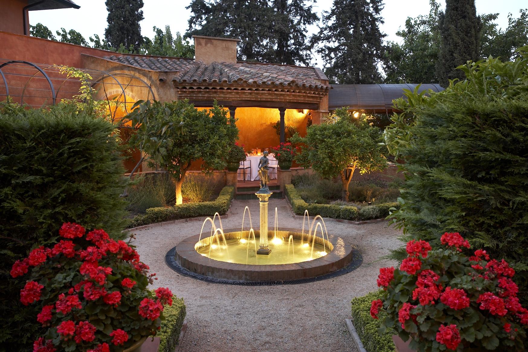 jardn terraza restaurante la boella tarragona