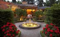 Jardin terrasse restaurant La Boella Tarragone