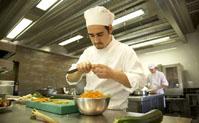 Cocina restaurante La Boella Tarragona