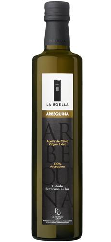 Aceites virgen Extra La Boella, Arbequina