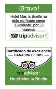 Certificat Tripadvisor