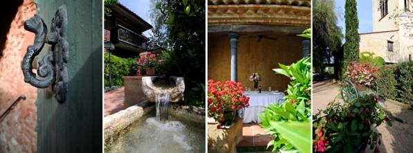 Los detalles de Mas La Boella hotel boutique en Tarragona