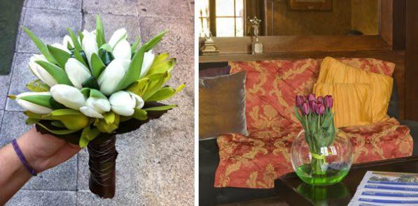 tulipanes boda Boella