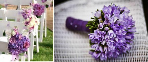 Ramo de violetas