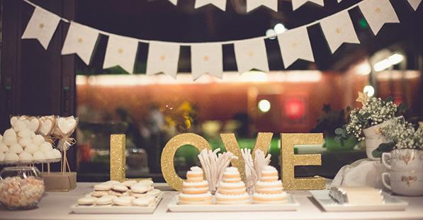 tendencias en decoración para bodas 2017 | la boella