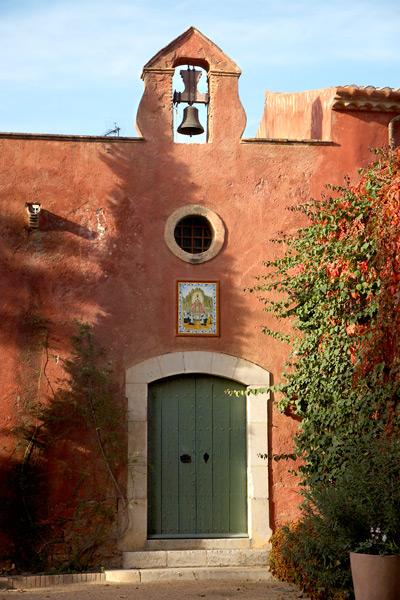 Exterior Capilla La Boella Tarragona