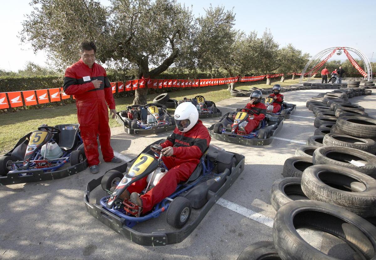 Evento de karting en Hotel Mas La Boella Tarragona
