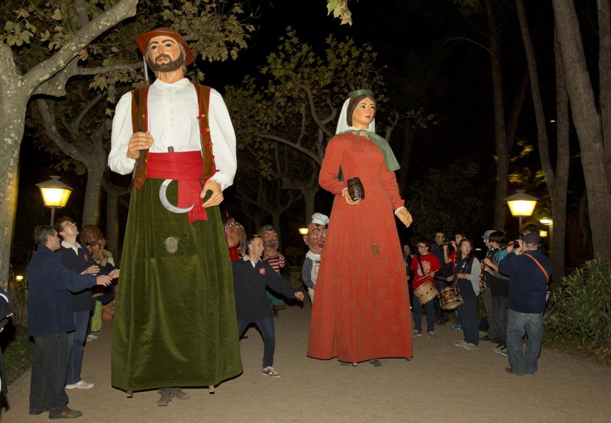 Evento folklórico en Hotel Mas La Boella Tarragona