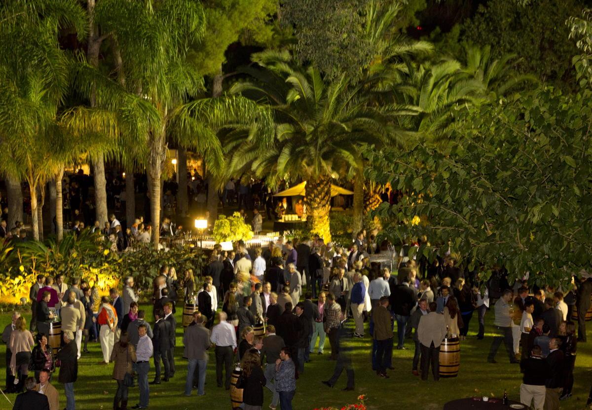 Jardín para eventos Hotel Mas La Boella