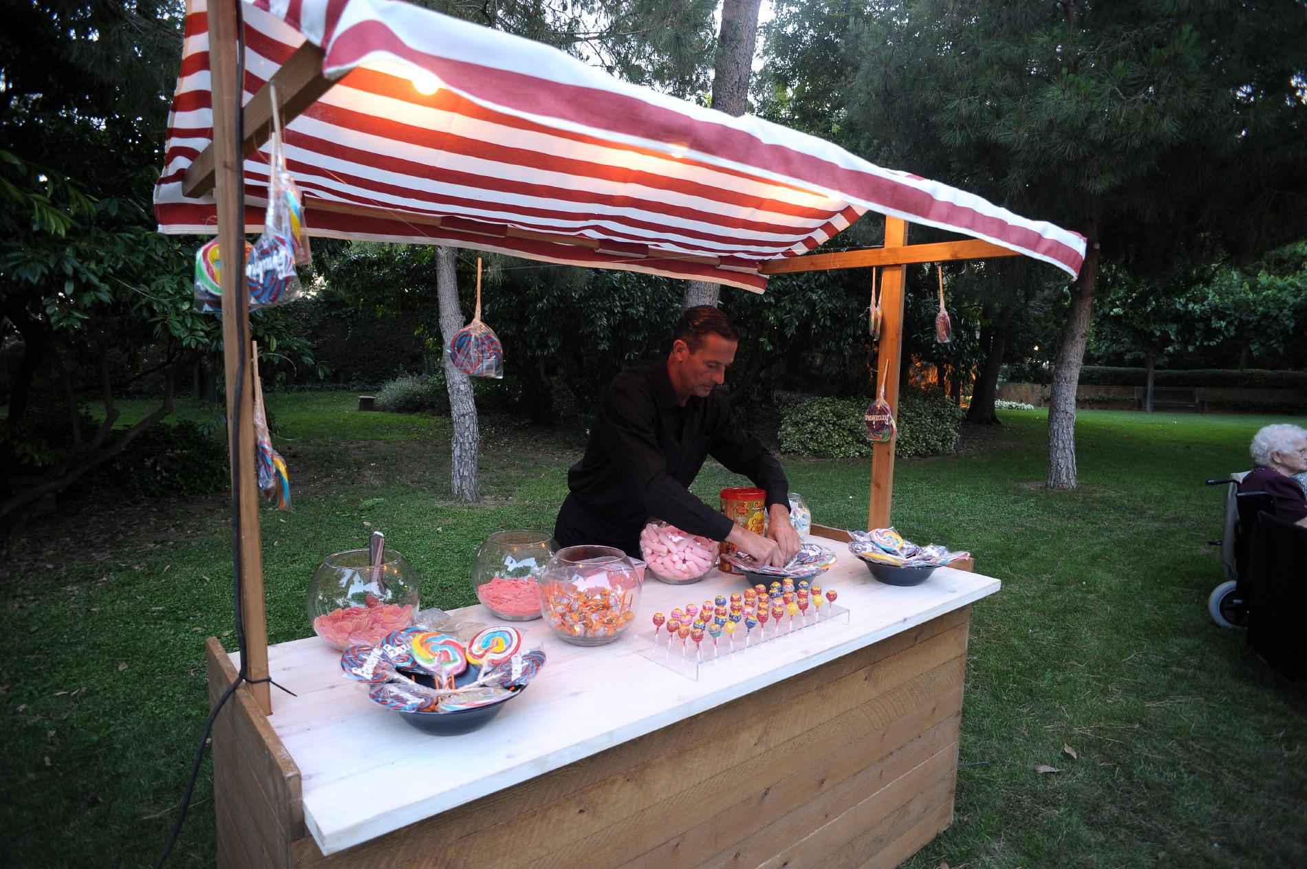 Evento en jardín Hotel Mas la Boella