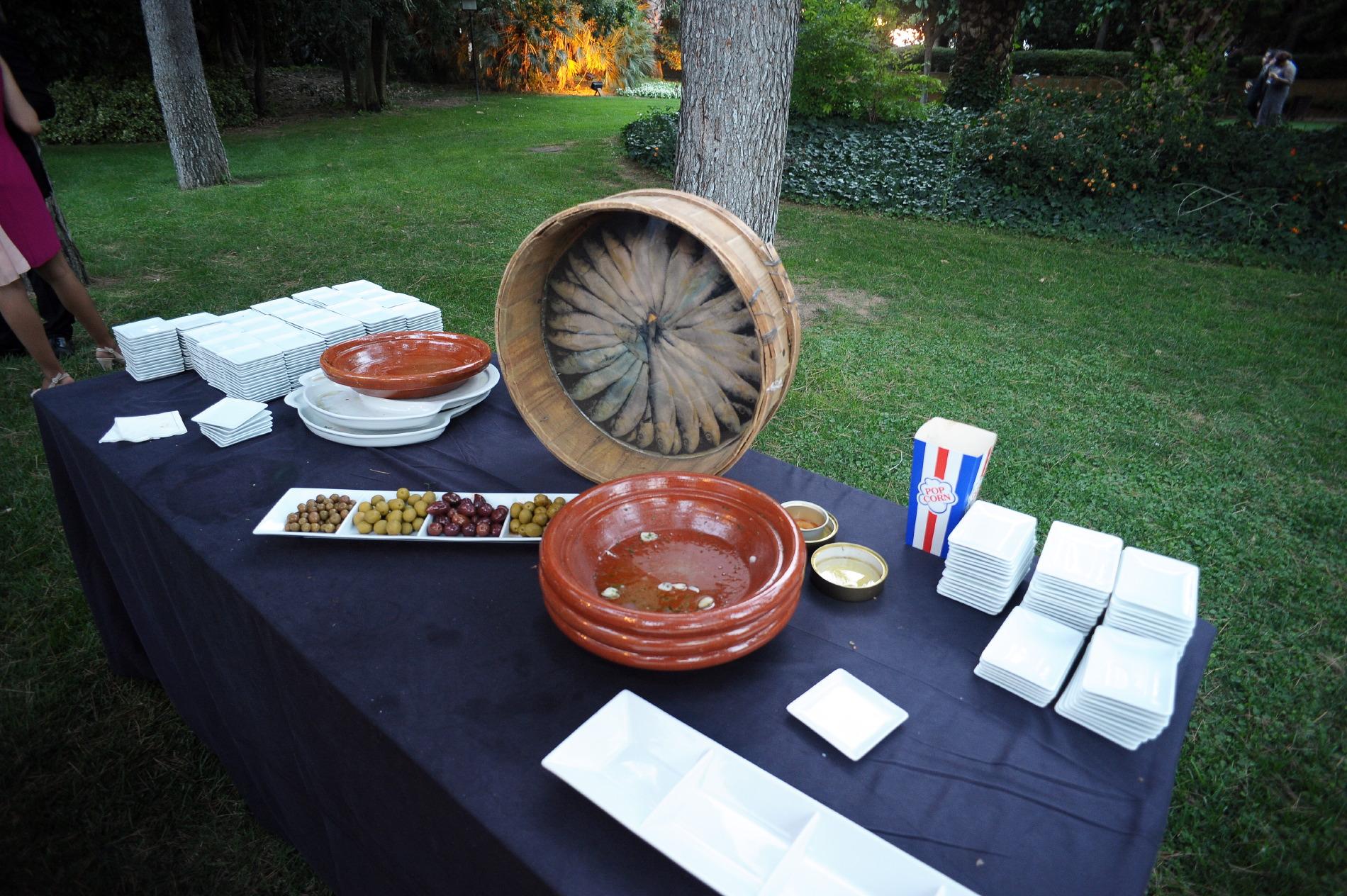 Decoración especial para eventos Hotel Mas La Boella