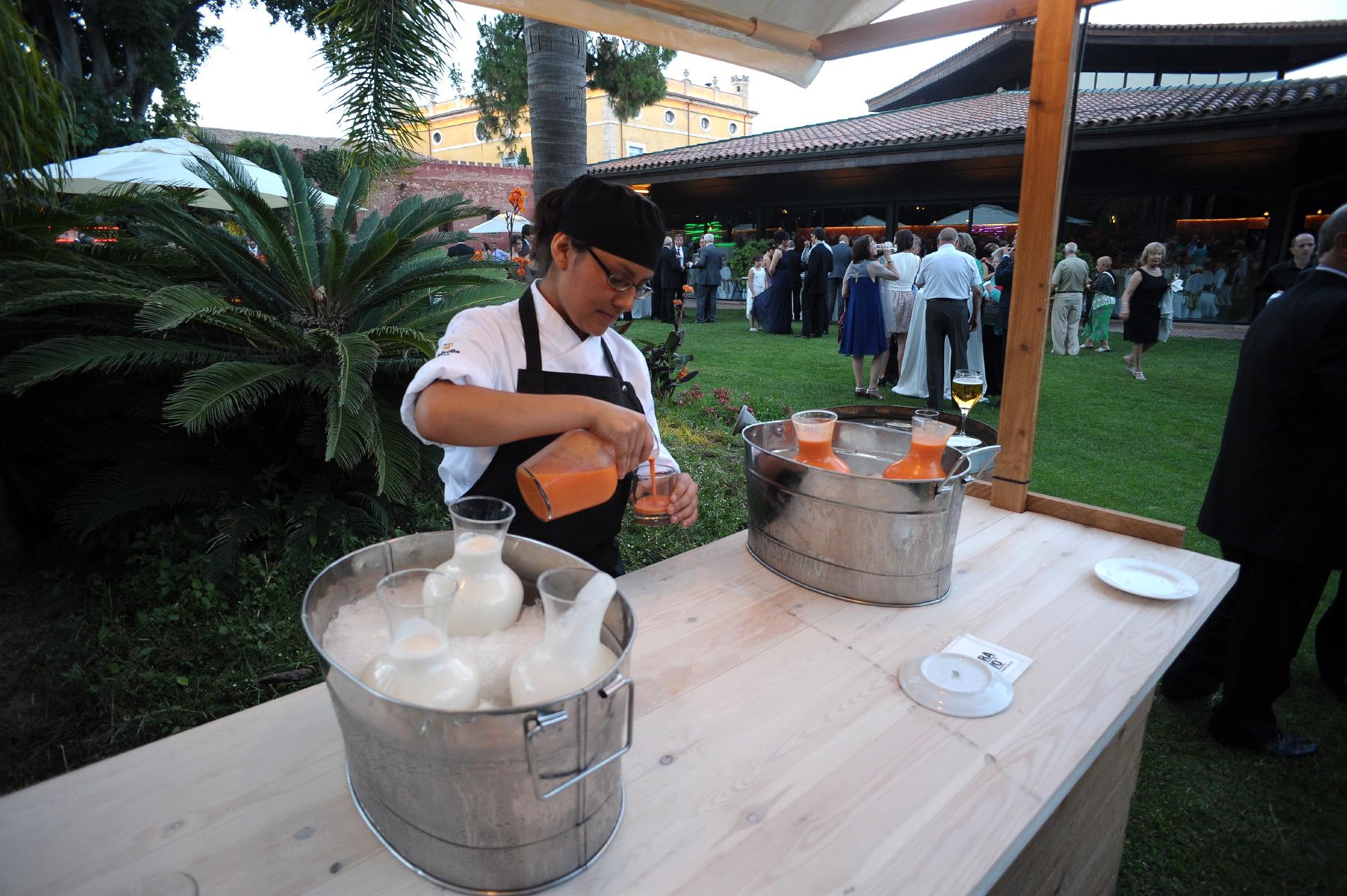 Detalles de los eventos organizados en Hotel mas La Boella Tarragona