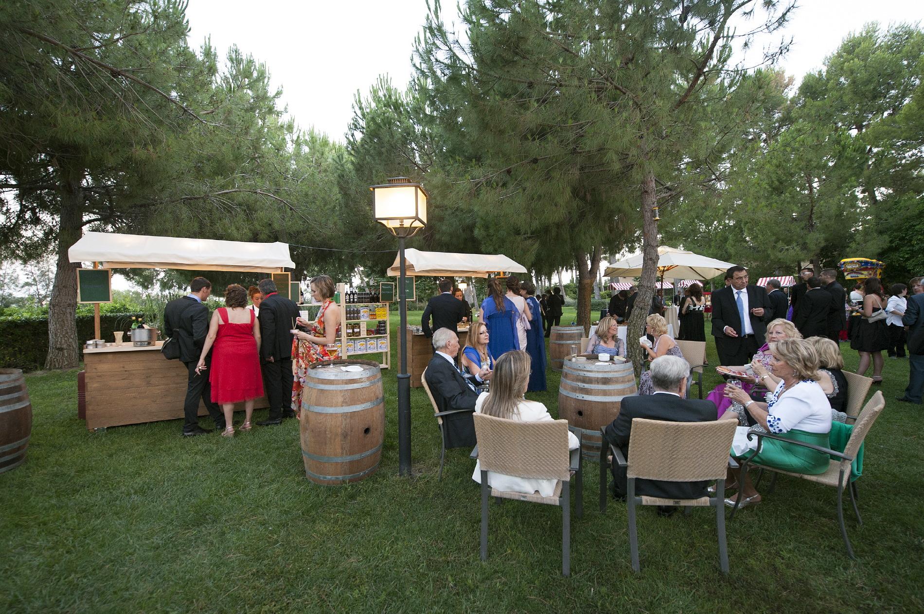 Evento informal al aire libre Hotel Mas La Boella