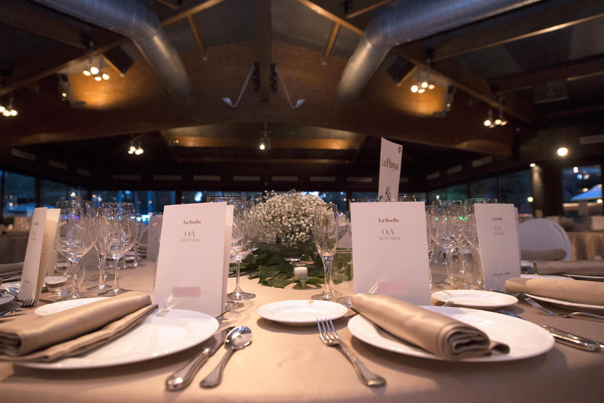 Protocolo de evento Hotel Mas La Boella