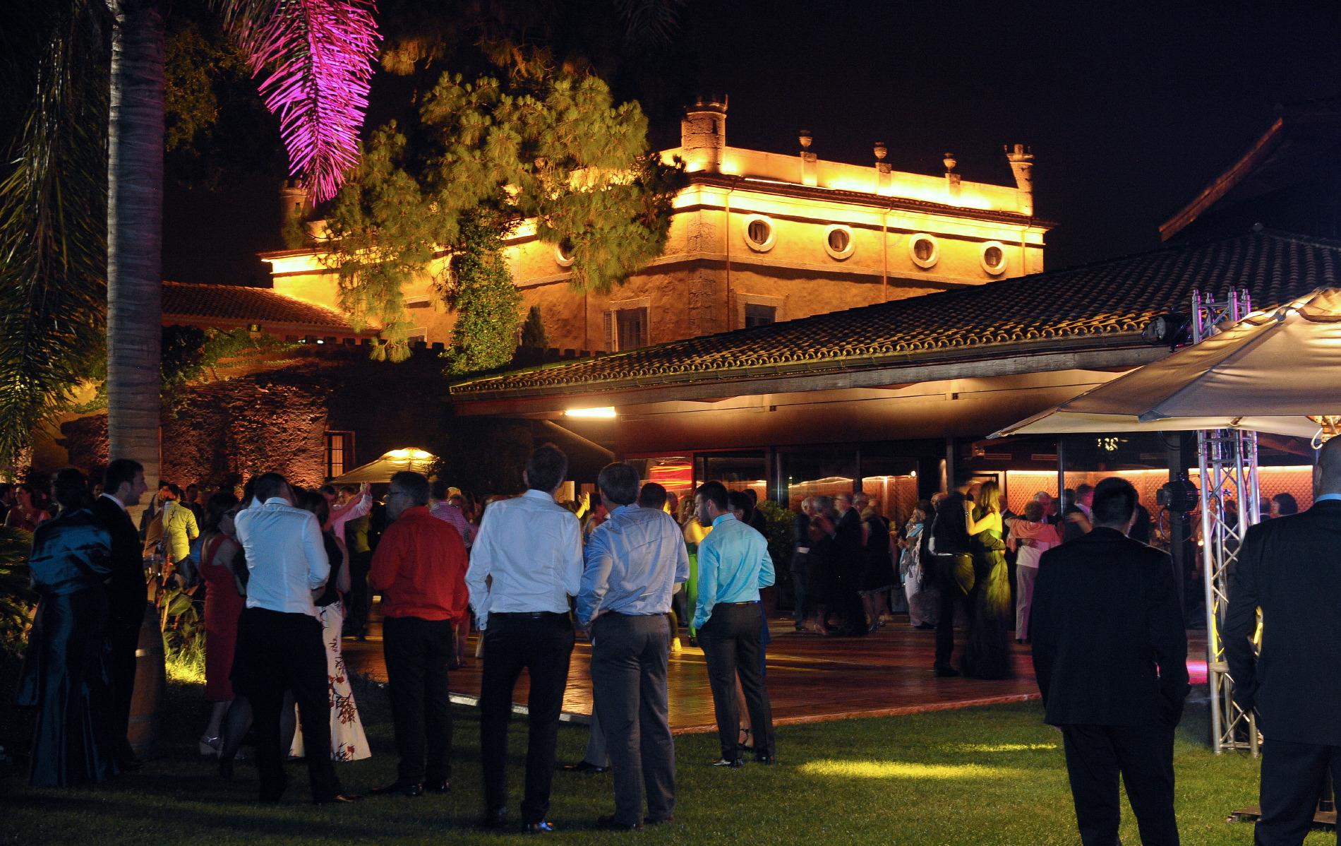 Evento nocturno de lujo Hotel Mas La Boella Tarragona