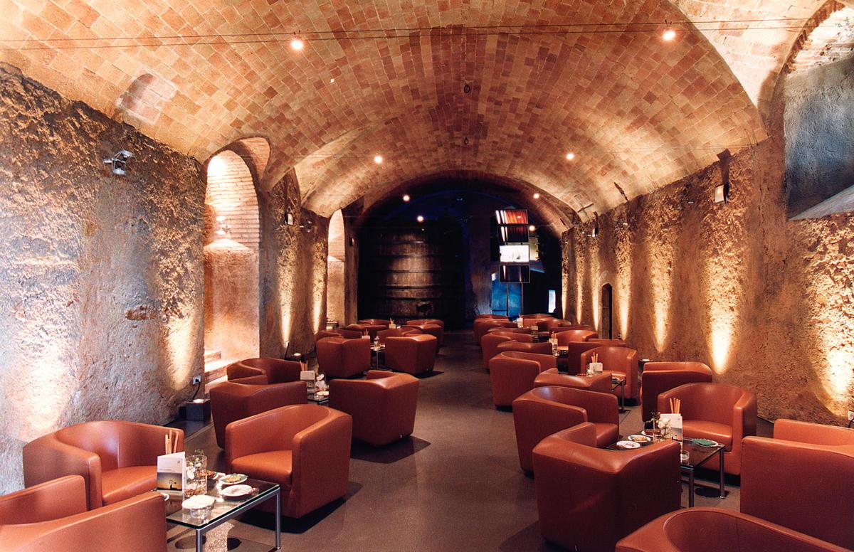 Espacio interior para eventos Hotel Mas La Boella
