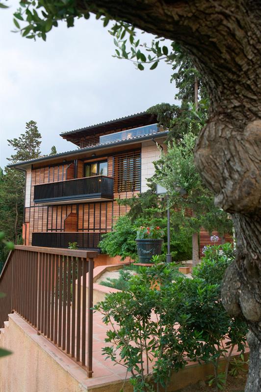 Hotel con espacios exteriores La Boella en Tarragona