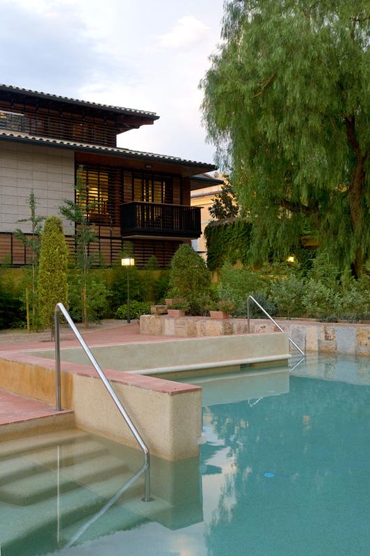 Piscina Hotel Mas La Boella en Tarragona
