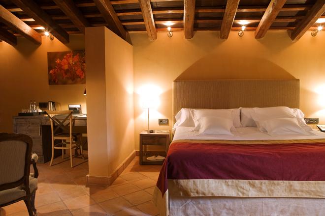 Suite espaciosa en Hotel Mas La Boella Tarragona