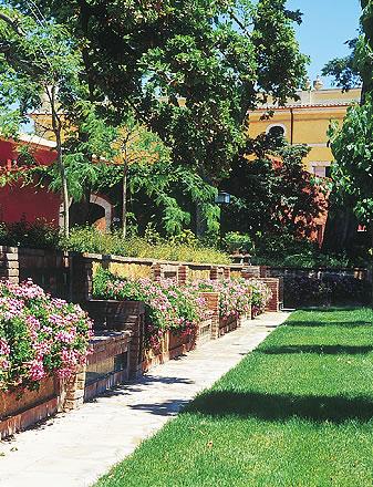 Jardines para eventos con flores La Boella Tarragona