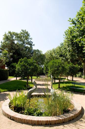 Jardín para eventos La Boella Tarragona