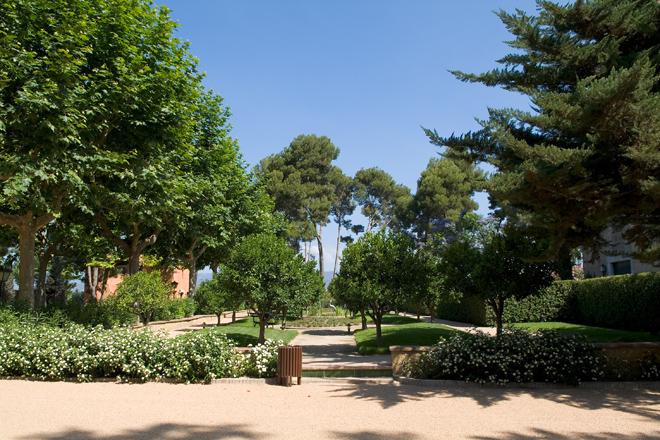 Jardines complejo oleoturístico La Boella Tarragona