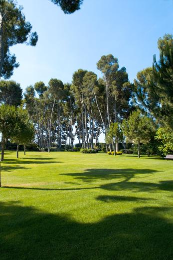Jardín para eventos en Tarragona