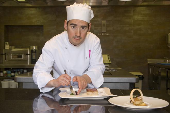 Chef Manu Ramírez restaurante La Boella Tarragona