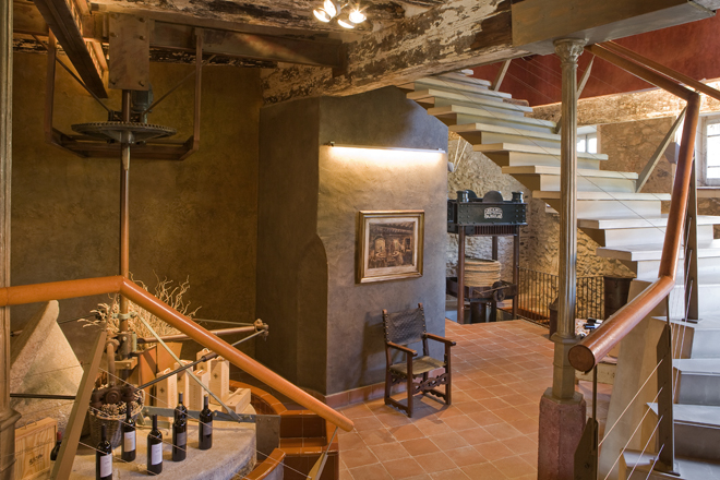 Recepción restaurante La Boella Tarragona