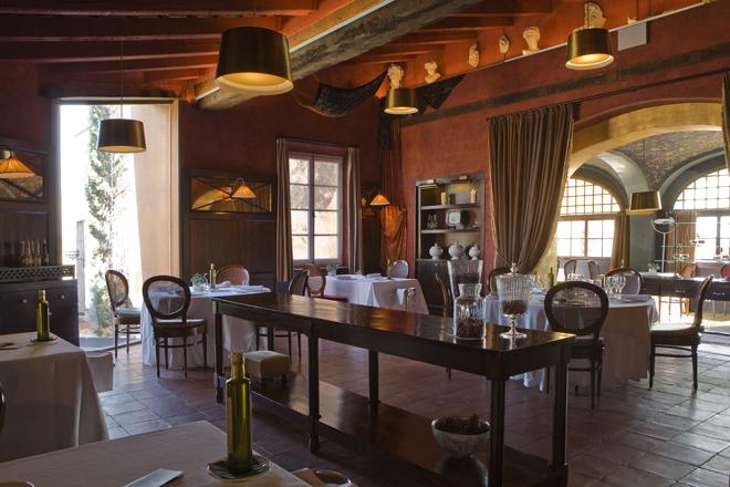 Comedor restaurante La Boella Tarragona