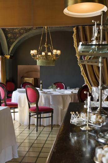 Sala restaurante Hotel Mas La Boella