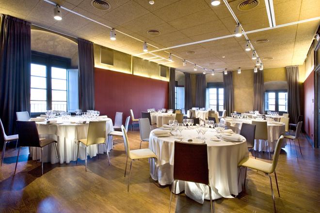 Banquetes salón de actos La Boella