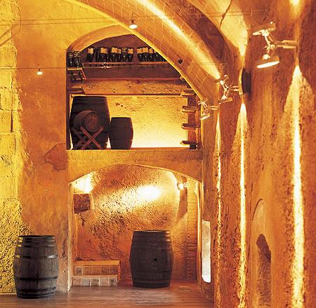 Decoración salón dorado La Boella Tarragona