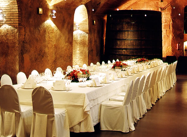 Gran celebración en Salón dorado La Boella Tarragona