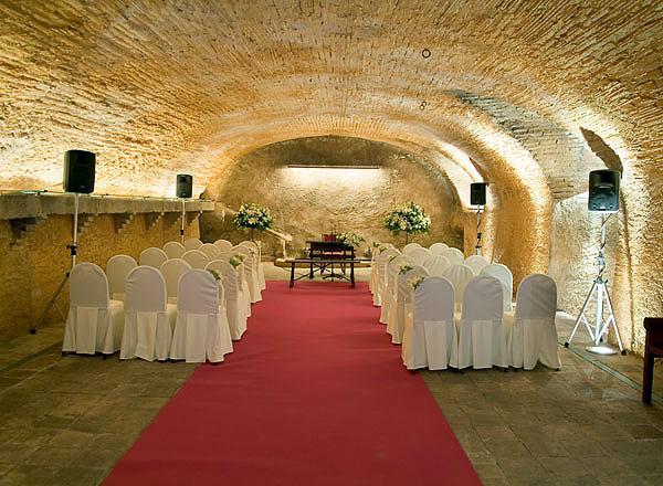Salón para ceremonias La Boella Tarragona