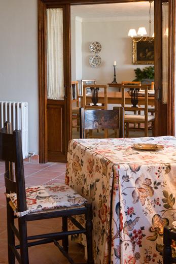 Comedor salón privado La Boella
