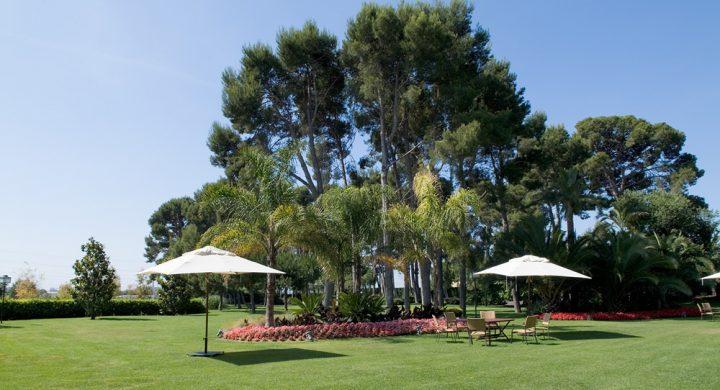 Jardín grande para eventos en Tarragona