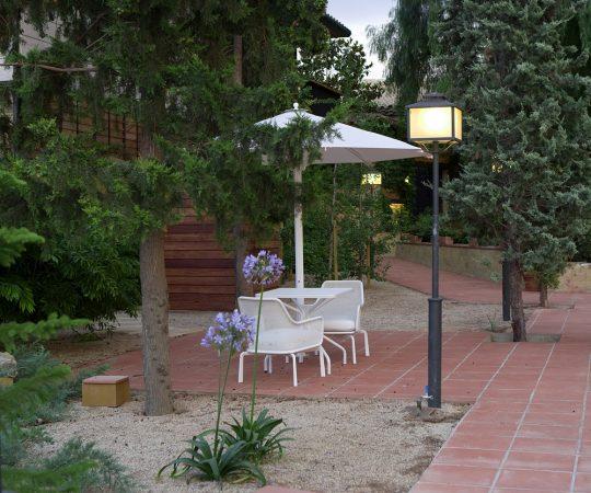 Hotel con jardines en Cataluña