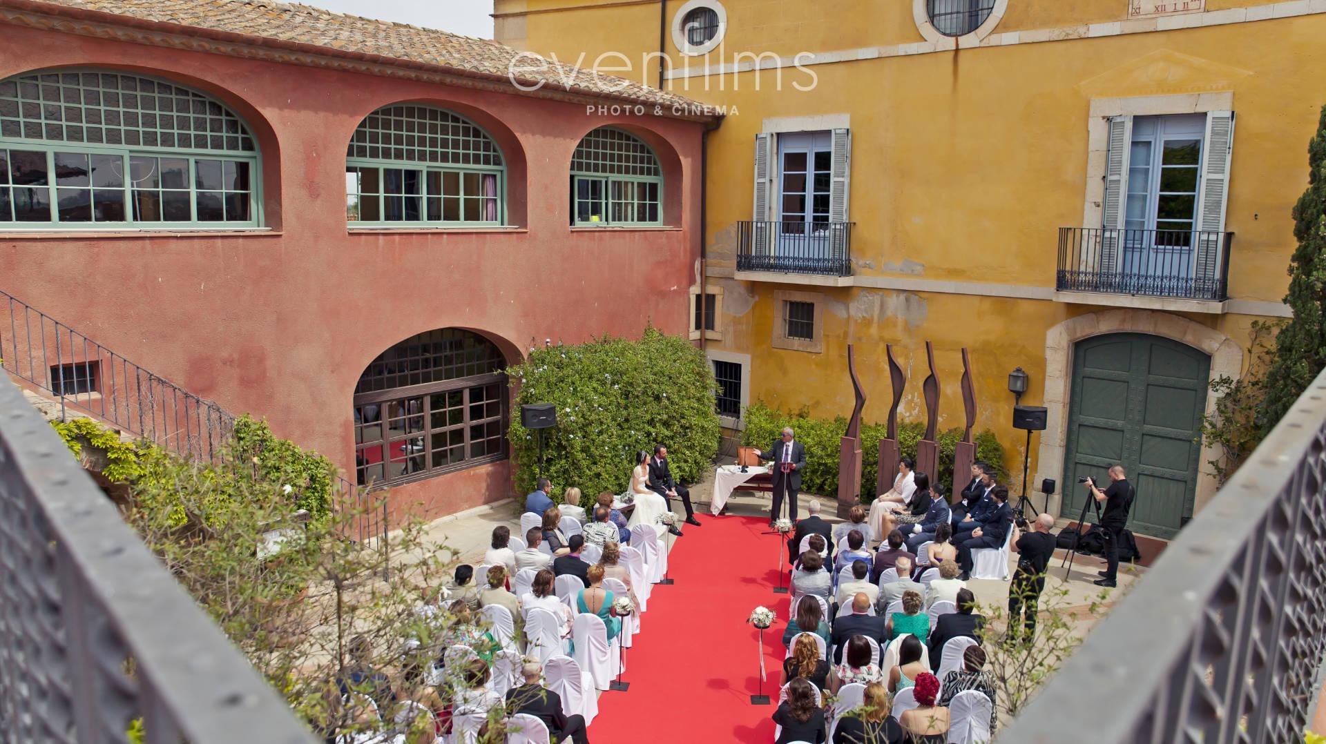 Celebración de una boda en Tarragona