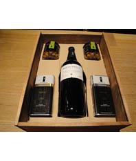 LOTE 5 Aceitunas, Mágnum Vino y Aceites La Boella