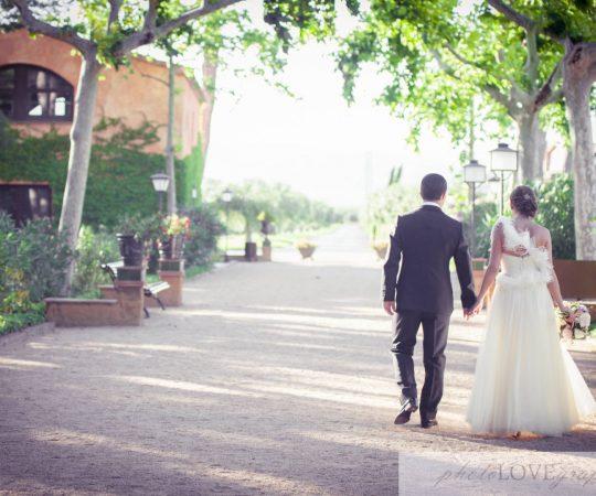 Celebración de boda en La Boella, un espacio para celebraciones
